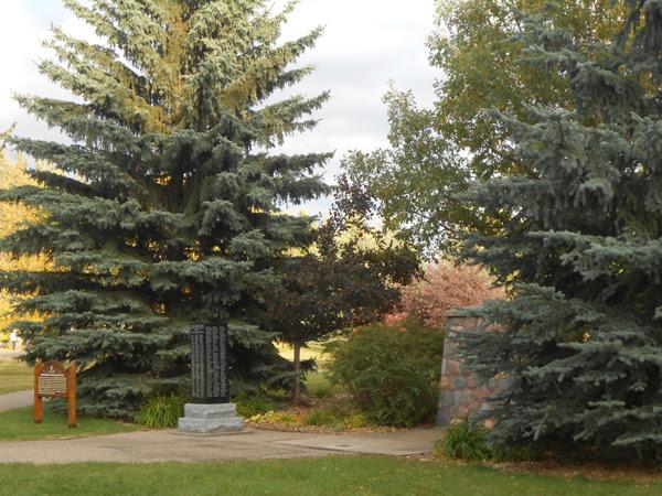 Montgomery Place, Saskatoon Monument