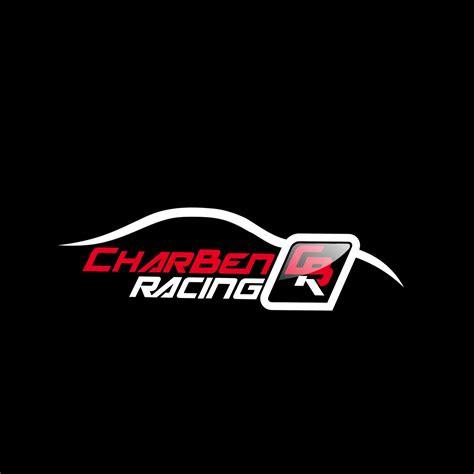 masculine bold car racing logo designs  charben