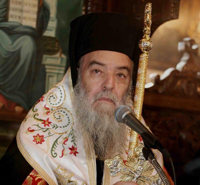Αποτέλεσμα εικόνας για Μεγαλοπόλεως κ. Ιερεμίου στην Πειραϊκή Εκκλησία