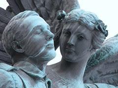Wm Harvey Set Photo 26: CPR Winged Angel Monument (4)