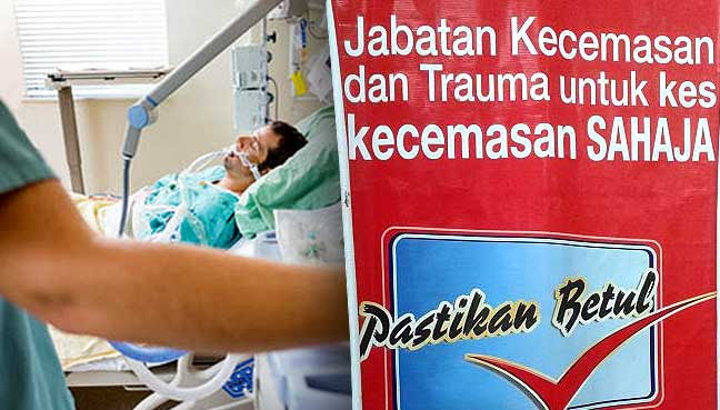 Image result for Foto pesakit kritikal