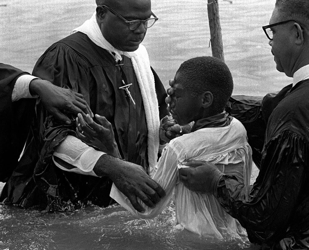 Image result for river baptism