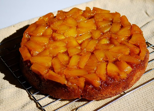 Pinapple Upside Down Cake