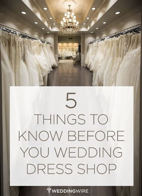 What to know before you go wedding dress shopping