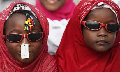 Kids with hijab