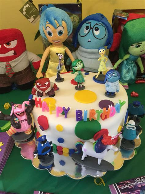 Disney's Inside Out Cake   Inside Out   Themed birthday