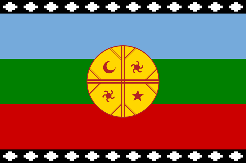 File:Flag of the Mapuches.svg