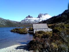 Boathouse at Dove Lake