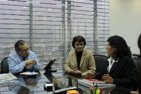 Ministro de Educación, Jaime Saavedra, se reunió con directores de escuelas públicas que destacan por su buena gestión educativa. Foto: Ministerio de Educación