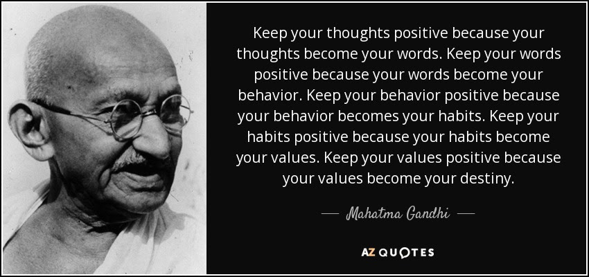 Inspirational Quotes Keep Your Words Positive Because Steemit