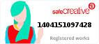 Safe Creative #1404151097428