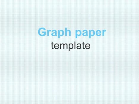 Graph Paper Template
