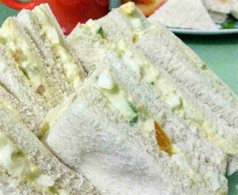 resepi sandwich telur hancur sedap khazanah resepi