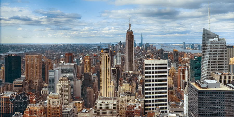 Photograph Empire State Building and Manhattan by Robert Arbitter on 500px