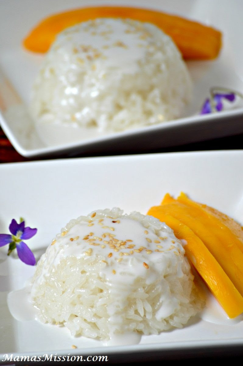Thai Coconut Sticky Rice Pudding Twist Recipe
