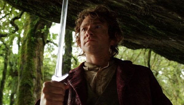 Martin Freeman goes on an adventure as a young Bilbo Baggins in THE HOBBIT: AN UNEXPECTED JOURNEY.