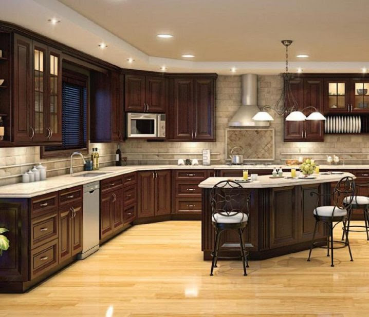 16 Of The Best Brown Kitchens You Have Ever Seen