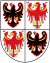 Coat of arms of Trentino-South Tyrol.svg