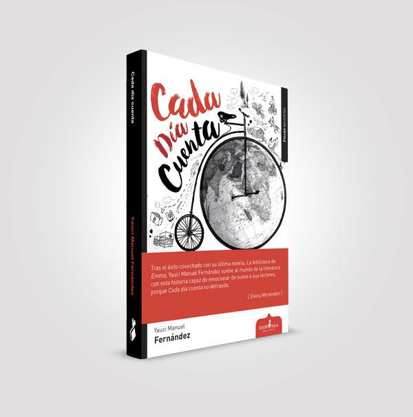 reseña literaria, reseña, blog de lectura, solo yo, blog solo yo, esdrújula ediciones, libro, Cada día cuenta, Yauci Manuel Fernández,
