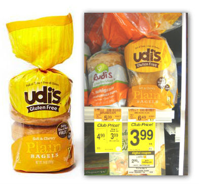Udi's Coupons: Gluten Free Bread, Only $1.99 at Safeway ...