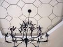 diy project: bronze nail ceiling design | Design