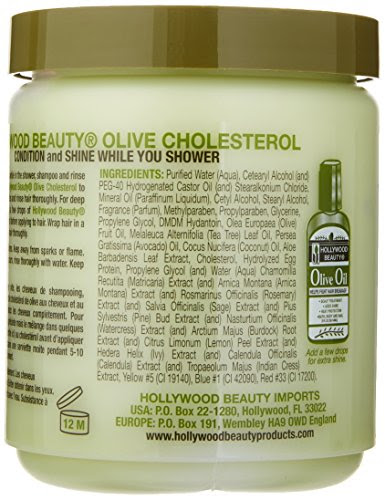 Hollywood Beauty Olive Cholesterol 20 oz 045836005355 ...