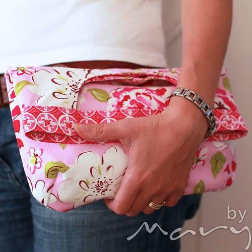 2 in 1 bag pattern - clutch