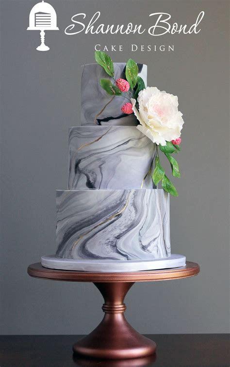 Marbled Wedding Cake   CakeCentral.com