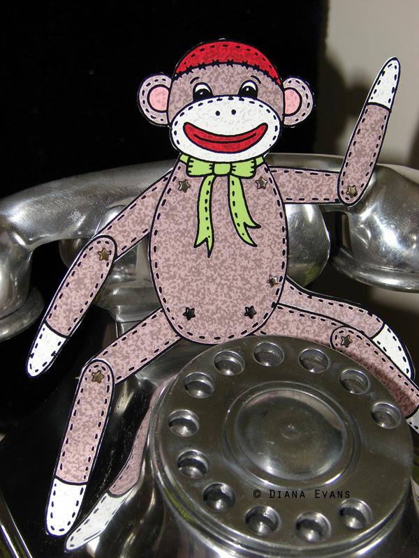 sock monkey 9c