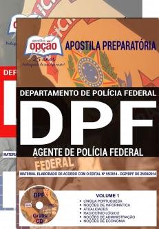 Apostila Preparatória Policia Federal-AGENTE DE POLÍCIA FEDERAL