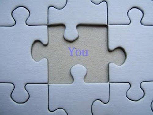 Encuentra la pieza que te hace falta para ser un ser completo.