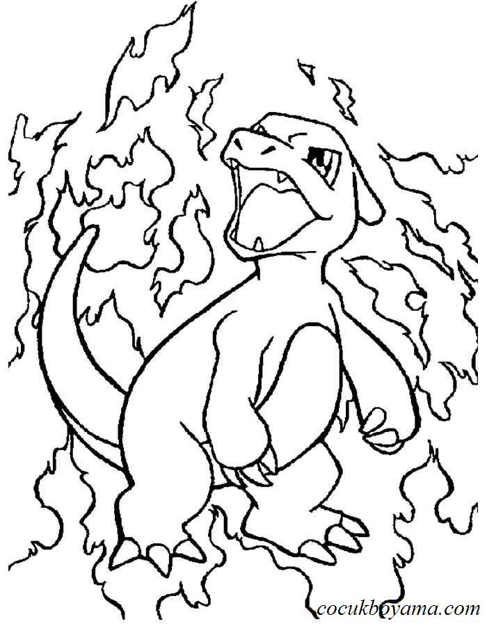 Pokemon 47 ücretsiz Boyama Resimleri