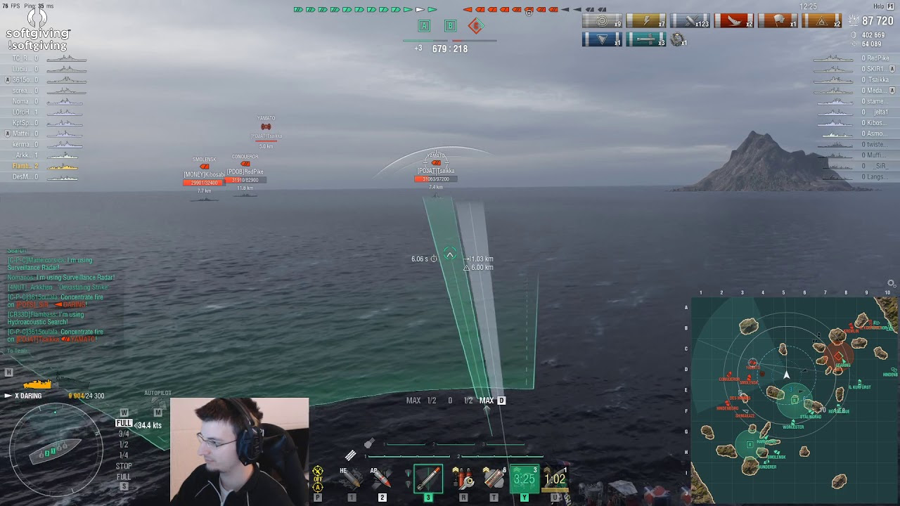 World of Warships - New Daring is even stronger