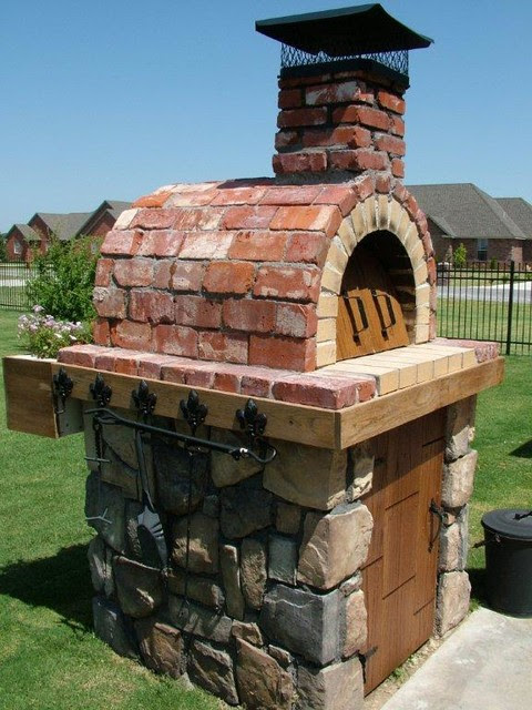 The Moon Family DIY Wood Fired Pizza Oven in Oklahoma by ...