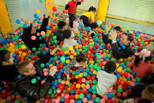 North Korea ballpit