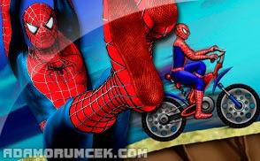 örümcek Adam Online Boyama Oyunu