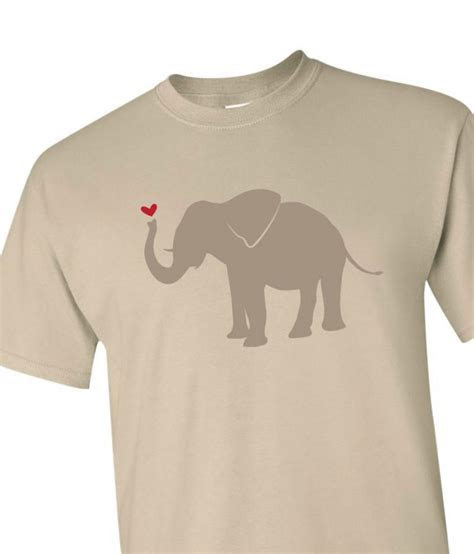 Printed Cotton Anniversary T shirt with Elephant