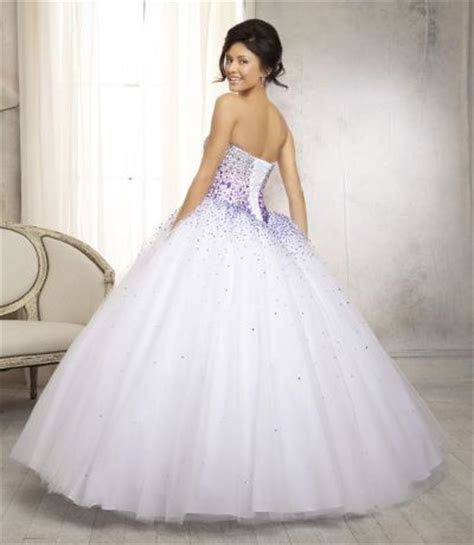 Vizcaya 88086 Ombre Beaded Quinceanera Dress: French Novelty