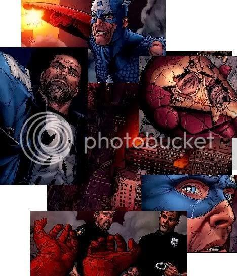 O  fim do Capitão América e a prisão de Steve Rogers