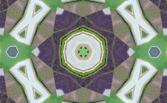 Lost in the Geometry of California's Farms, Kaleidoscope, HTML5 Animation