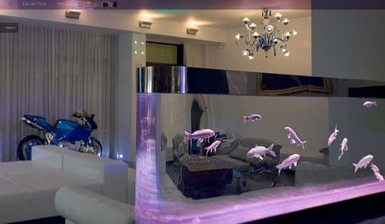 Living Room Decorating Ideas With Aquarium Home Design Inspiration