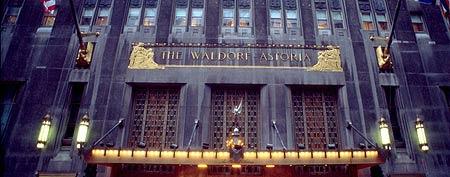 250,000 bees atop New York City's Waldorf-Astoria Hotel (Carolyn Schaefer/Liaison Agency)