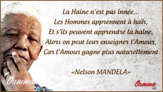 Citation Nelson Mandela Invictus