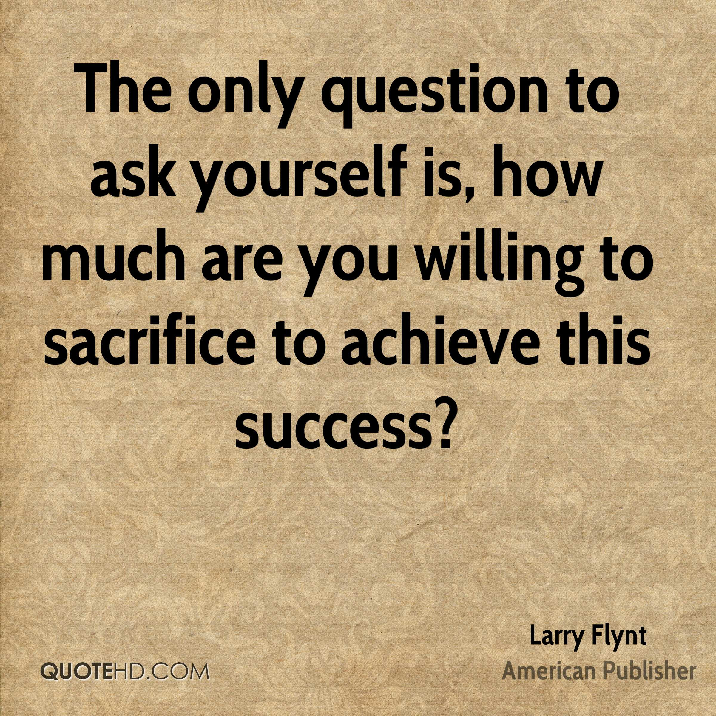 Larry Flynt Success Quotes Quotehd