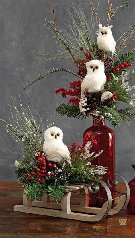 rustic christmas decorations pinterest 37   All About