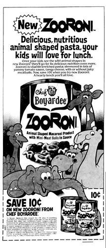 Zooroni Ad - 1982
