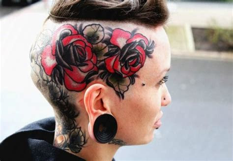 head tattoos designs ideas meaning tattoos