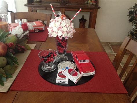 1950's theme centerpiece   Yahoo Search Results