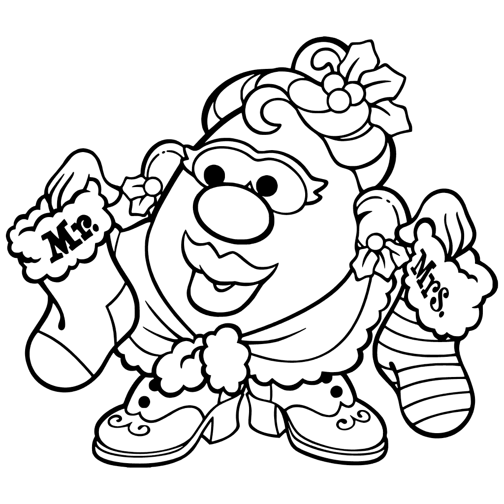 Potato Head Coloring Page at GetColorings.com   Free ...