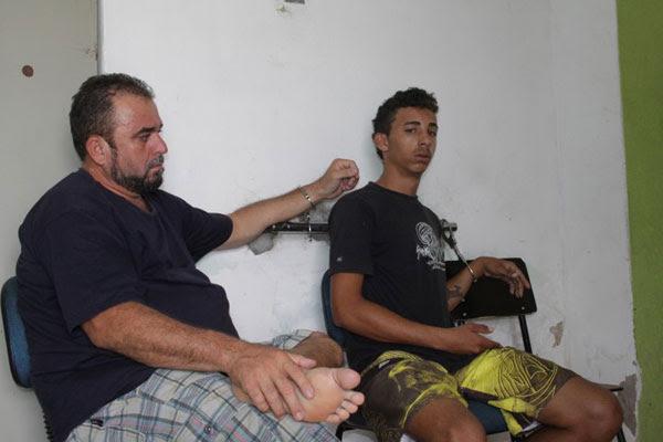 José Neto dos Santos Souza, vulgo Galego Zulu, e Thiago Darquinho da Silva foram presos na operação